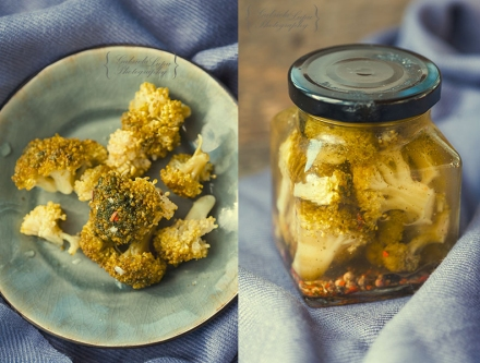 spicy pickled broccoli